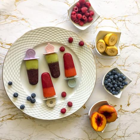 Плодов сладолед (без мляко)
