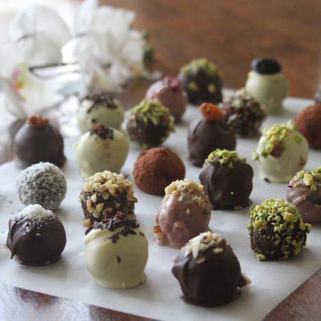 Шоколадови енергийни трюфели