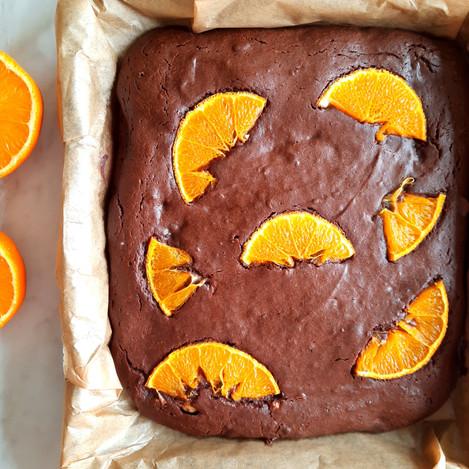 Брауни с портокал