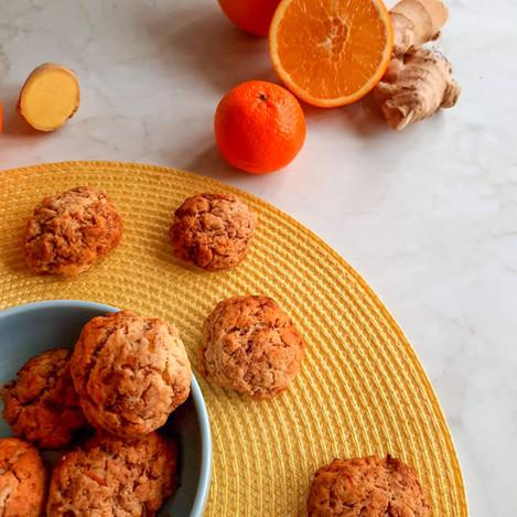 Портокалови курабийки с джинджифил