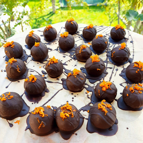Портокалови бонбони