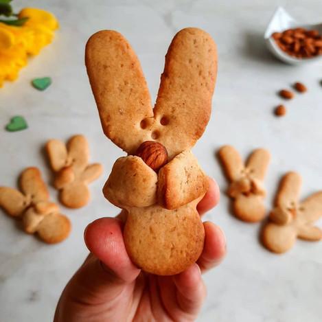 """Бисквити """"Великденско зайче"""""""
