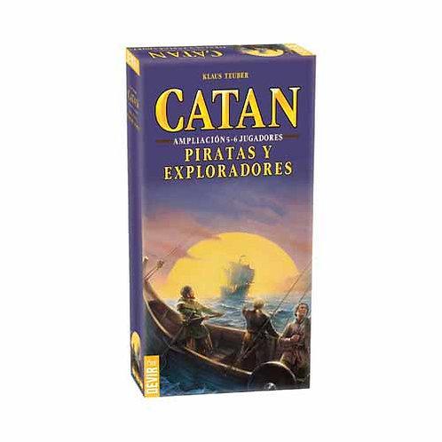 Catan Piratas y Exploradores ampliación 5-6 Jugadores