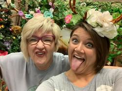 Goofy Marie and Tara!