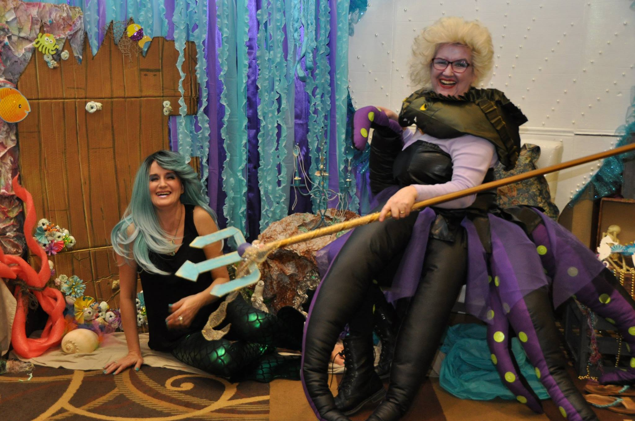 Ursula and the mermaid
