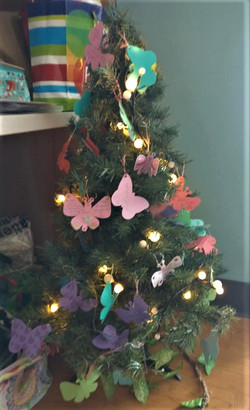Butterfly tree made for Kaitlyn