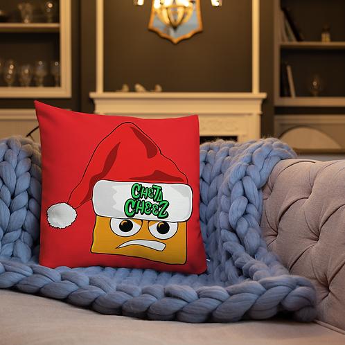 Cheta Cheez Christmas Pillow