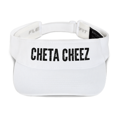 """""""Cheta Cheez"""" Visor (Black Font)"""