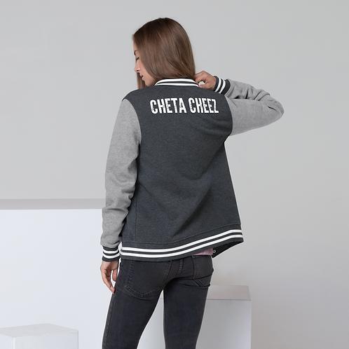"Women's ""Cheta Cheez"" Letterman Jacket"