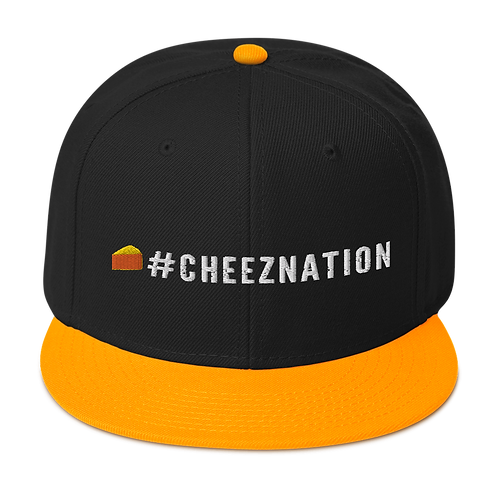 #CheezNation Snapback Hat