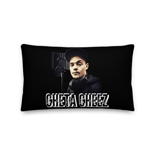 Cheta Cheez 'Enemy' Premium Pillow