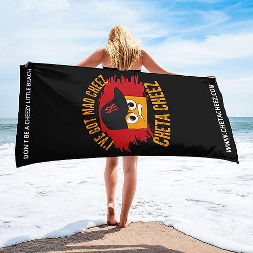 Cheta Cheez Beach Towel