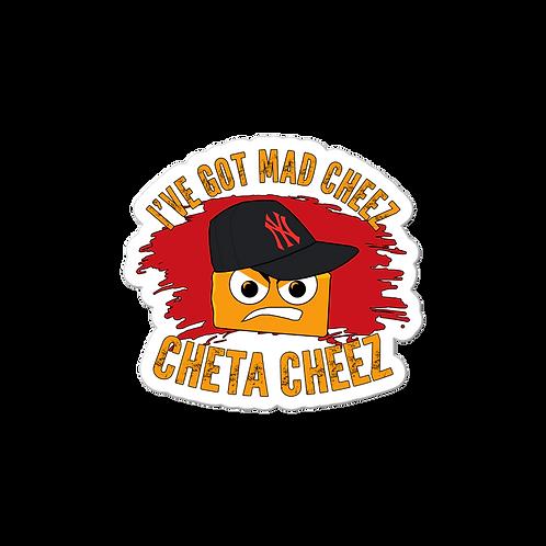 Mad Cheez Sticker