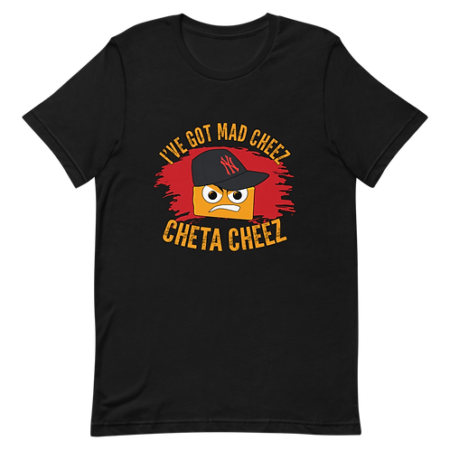 Men's Mad Cheez Unisex T-Shirt