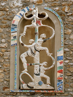 Eglise Fresnes-Detail Face 1