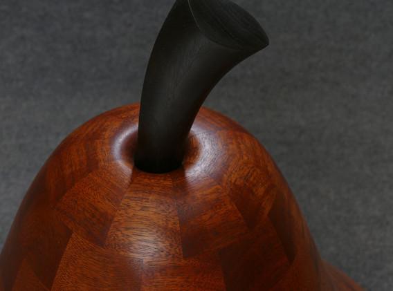 Pear Floor Sculpture Stem Detail
