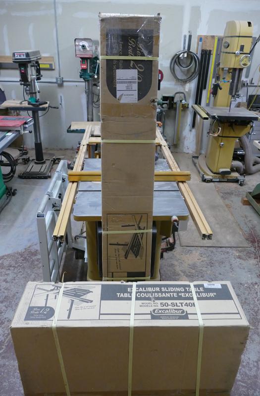 Excalibur Sliding Table 50 Slt40p Woodworkingmachines