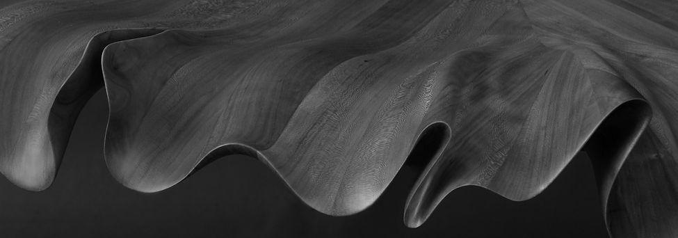 Lea Leaf Table Edge Detail