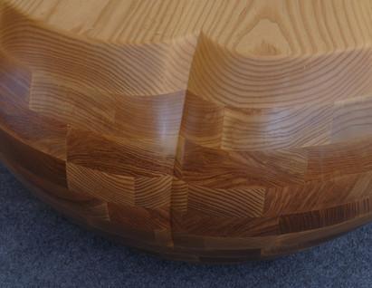 Zaftig Pear Coffee Table Back Detail