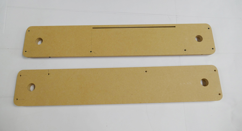 Two Extra MDF Inserts