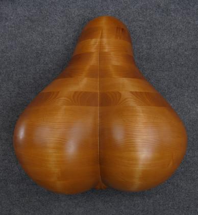 Bellmer Wall Pear Sculpture
