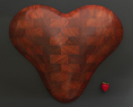 Brick Heart Wall Sculpture