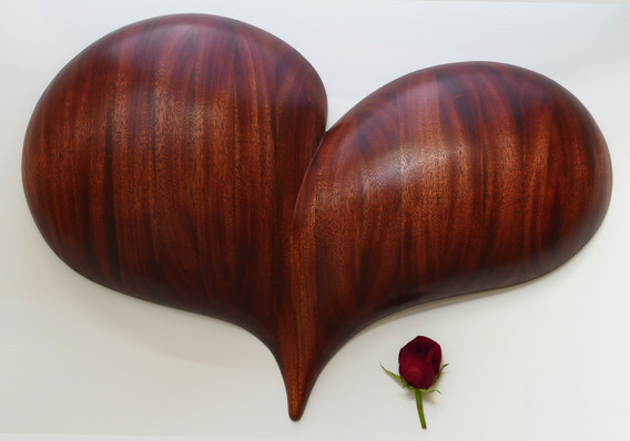 Rapturous Heart Wall Sculpture