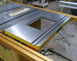 Attached to a Table Saw