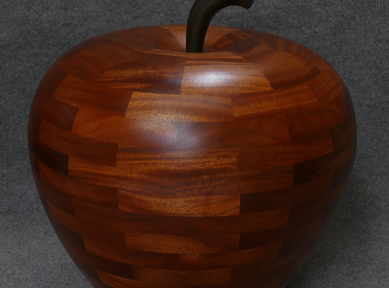 Luscious Apple Floor Sculpture