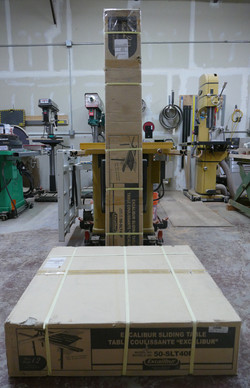 Shipping weight f/two boxes:150 lbs.