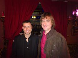 con Mariano Goñi
