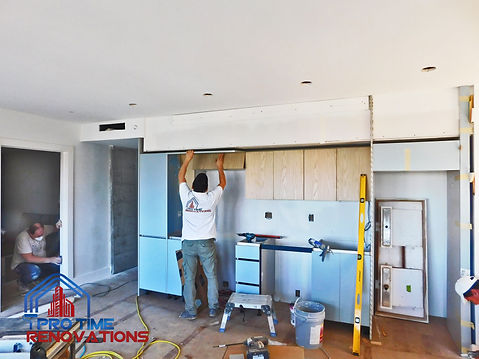 Kitchen-installation-ProTimeRenovations-