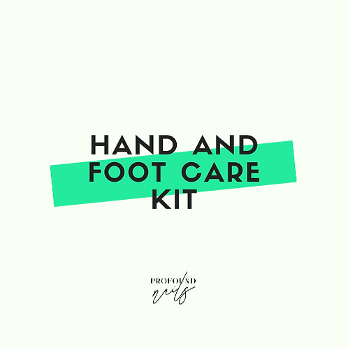 Hand & Foot Care Kit