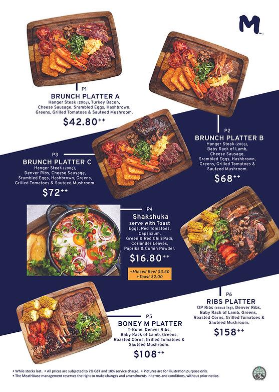 FA The only platter feast_A4 Menu Insert