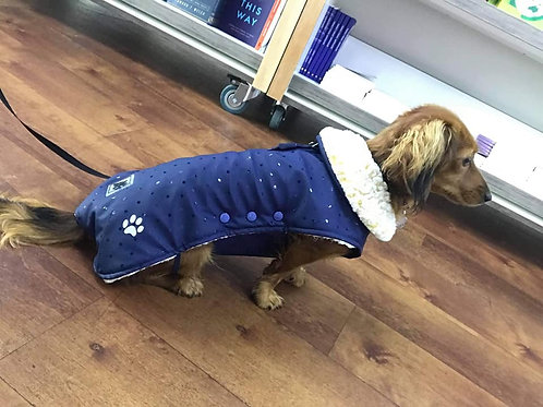 Dora Snuggle Fleece Coat With Belly Coverage