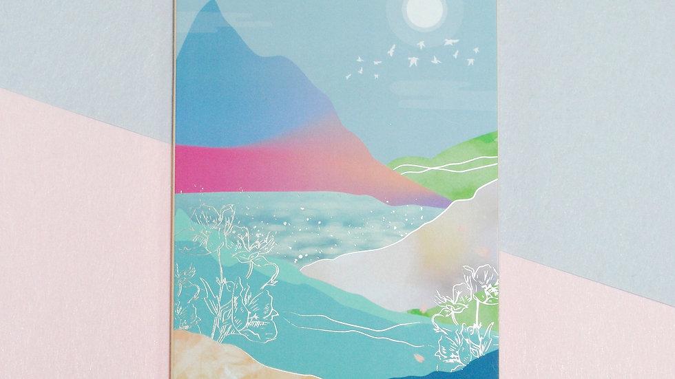 "2021 Planner Notebook - ""Spring"""
