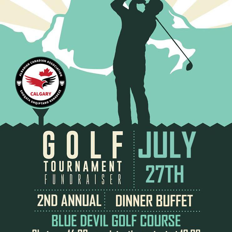 2nd Annual Golf Tournament Fundraiser
