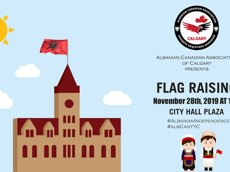 Flag Raising Day - Albanian Independence Day