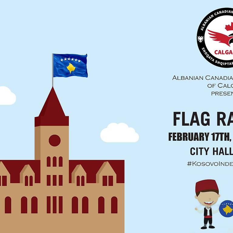 Ngritja e Flamurit te Kosoves - 17 Shkurt, 2019