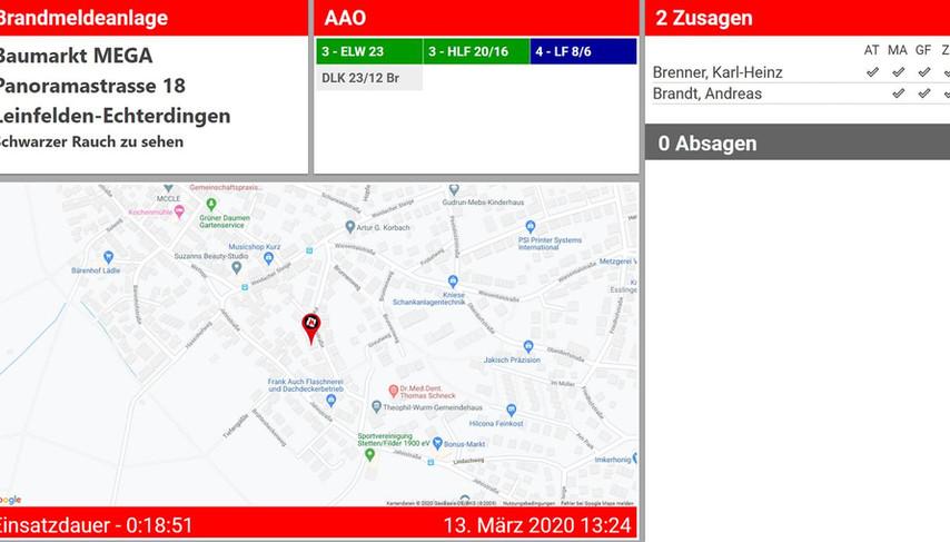 fireplan.display Screenshot