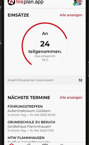 fireplan.app Startscreen