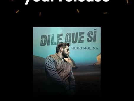 PRE GUARDA EL GRAN ESTRENO DE HUGO MOLINA.