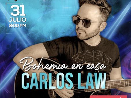 Live Show de CARLOS LAW.