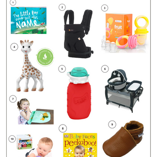 Practical Baby Gift Guide: 6 Months To 1 Year.