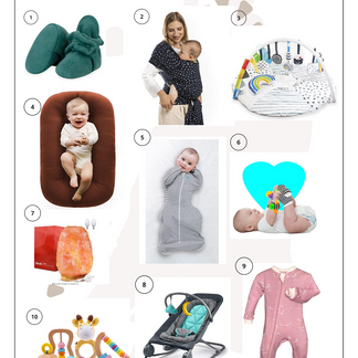 Practical Baby Gift Guide: Newborn to 3 Months.