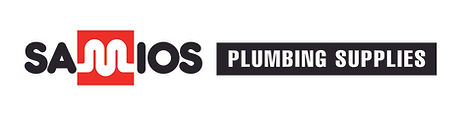 Samios Plumbing Supplies Landscape Logo