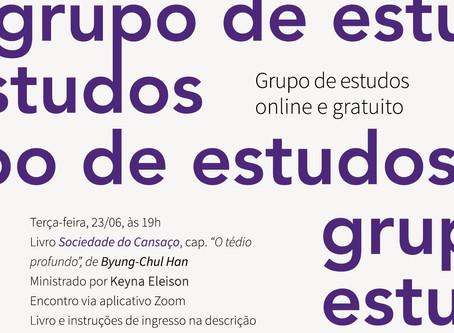 Grupo de Estudos #12: Byung-Chul Han com Keyna Eleison