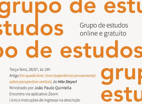 Grupo de Estudos #17: Hito Steyerl com João Paulo Quintella