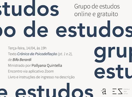 Grupo de Estudos #2: Bifo Berardi com Pollyana Quintella