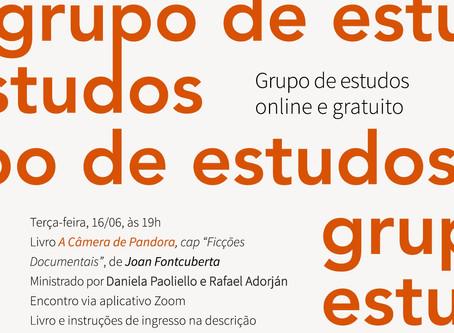 Grupo de Estudos #10: Joan Fontcuberta com Daniela Paoliello e Rafael Adorján